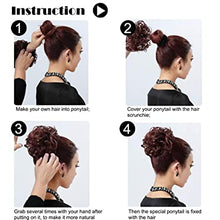 Load image into Gallery viewer, [2 PCS ONLY RM99🔥] TS™ Natural Messy Rose Bun Hair