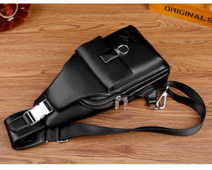 [ 50% DISCOUNT 🔥 ] TS™ PREMIUM LEATHER CROSS MESSENGER BAG