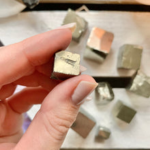 Load image into Gallery viewer, Pyrite Cubes - Prosperity