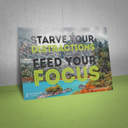 """Starve your distractions feed your focus"" -Ron Alford"