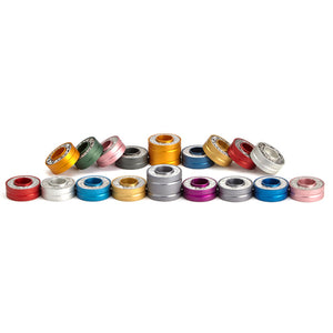 Colorful Travel Menorah and Shabbat Candlesticks - Modular Discs