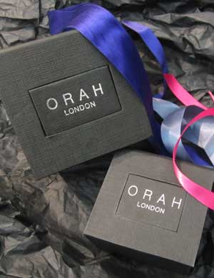 Orah London packaging