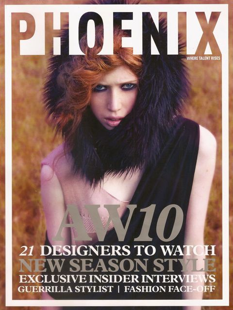 Orah London Phoenix Magazine