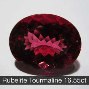 Rubelite Tourmaline 16.55ct