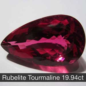 Rubelite Tourmanline 19.94ct