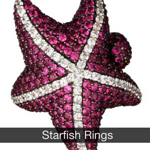 Starfish Rings