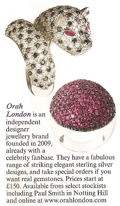 Orah London Vogue Magazine 3