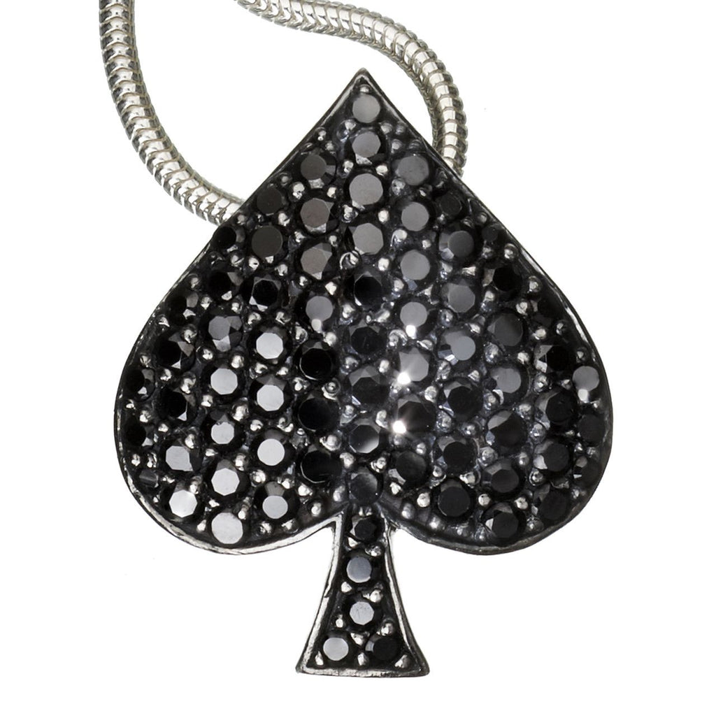 Orah London Ace of Spades Pendant