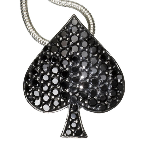 Ace of Spades Pendant