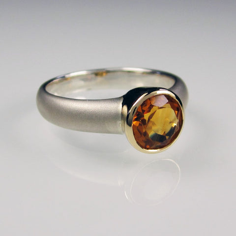 Aphrodite Gold with Citrine