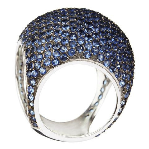 Blue Dome Ring