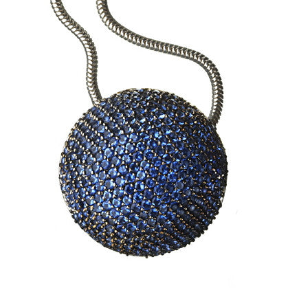 Orah London Blue Moon Pendant