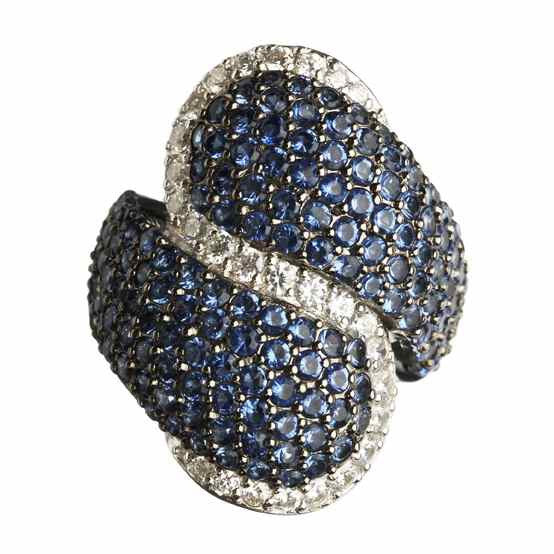 Orah London Blue Sista Ring