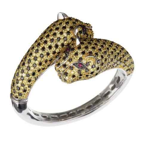 Golden Leopard Bracelet - Large