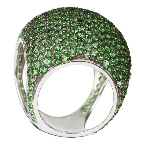Green Dome Ring