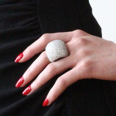 Snow Dome Ring