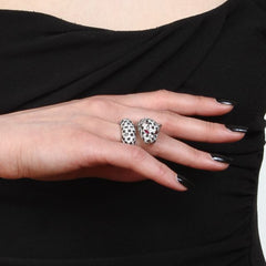 Orah London Snow Leopard Ring