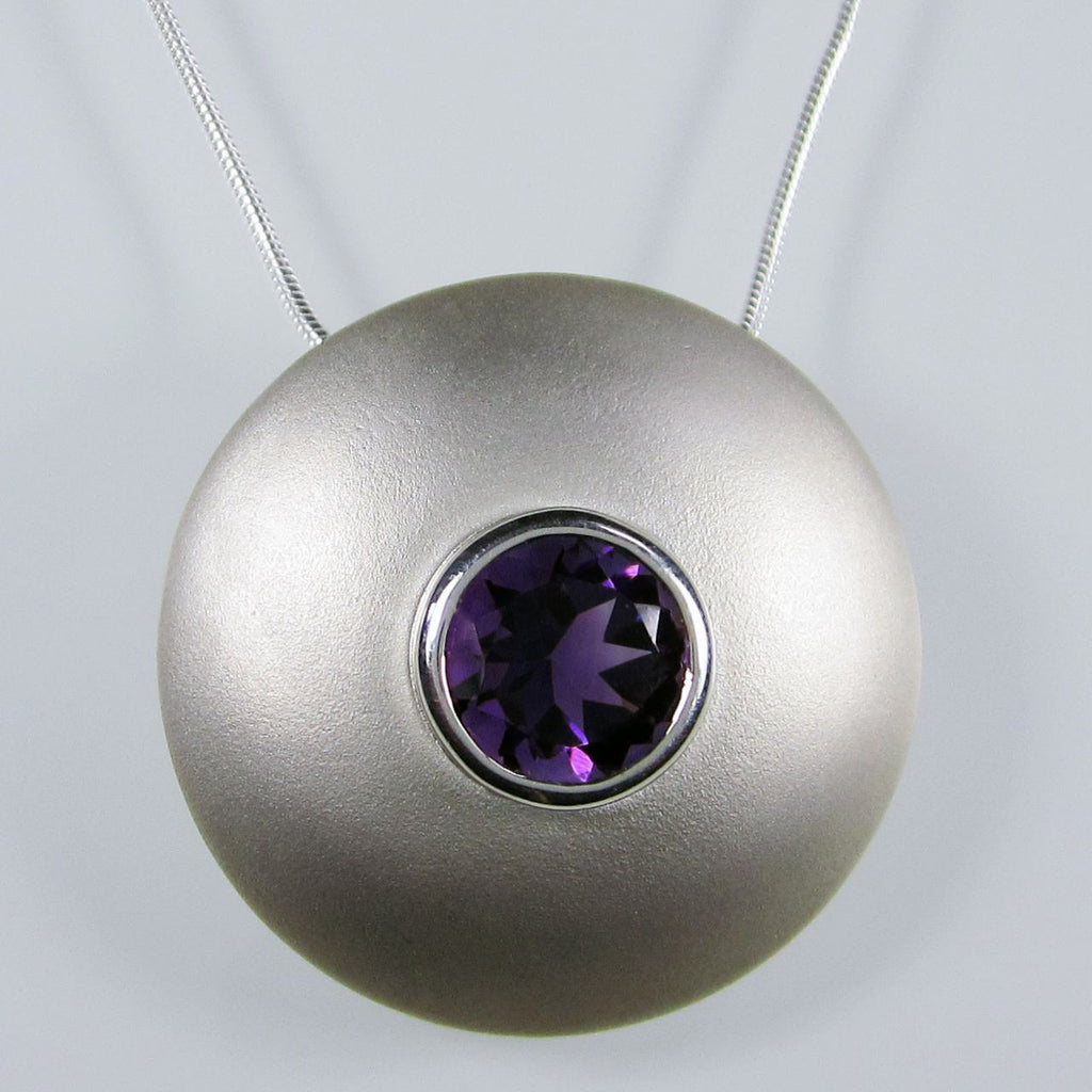 Hermes Pendant with Amethyst