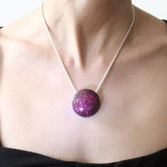 Orah London Pink Moon Pendant