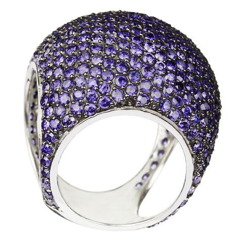 Purple Dome Ring