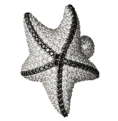 Orah London Snow Starfish Ring