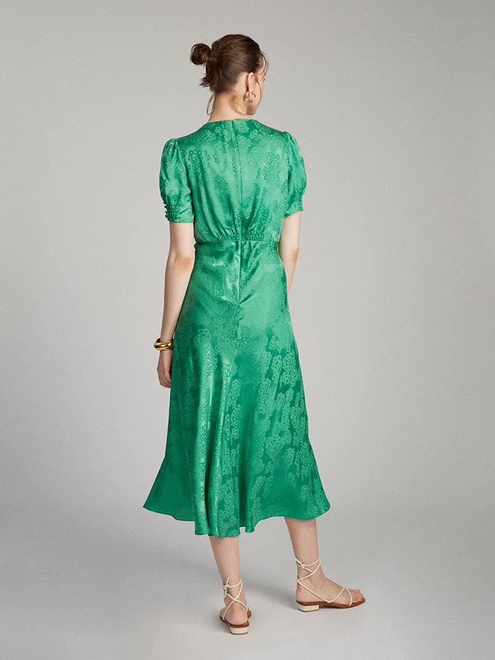 Load image into Gallery viewer, Lea Dress in Kelly Green