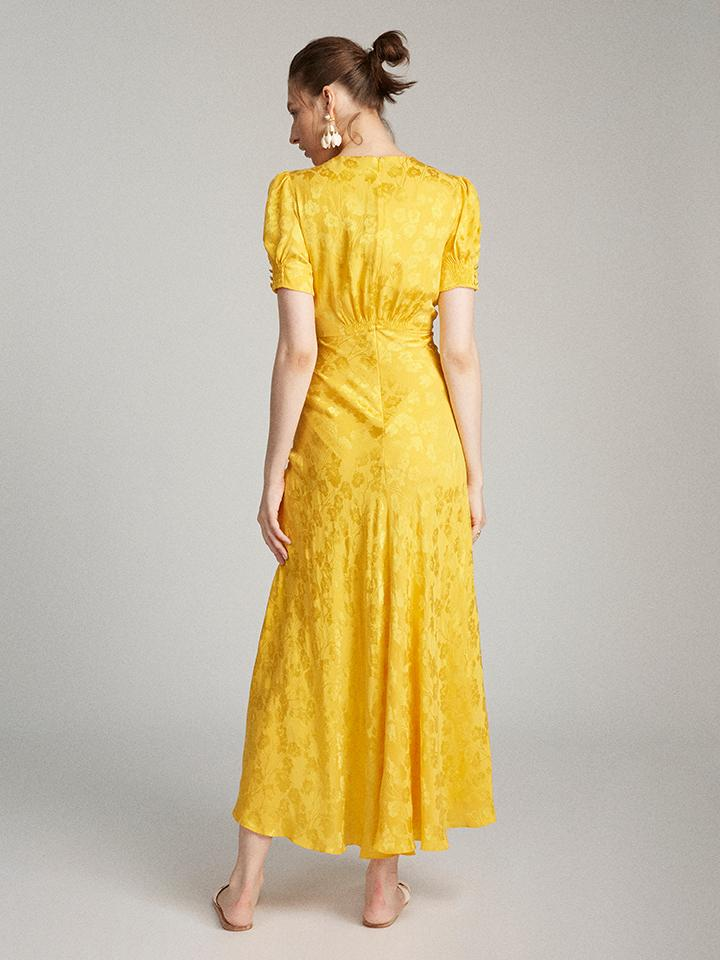 Load image into Gallery viewer, Lea Dress in Sun Poppy