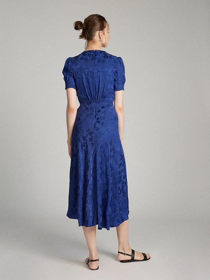 Load image into Gallery viewer, Lea Dress in Royal Indigo