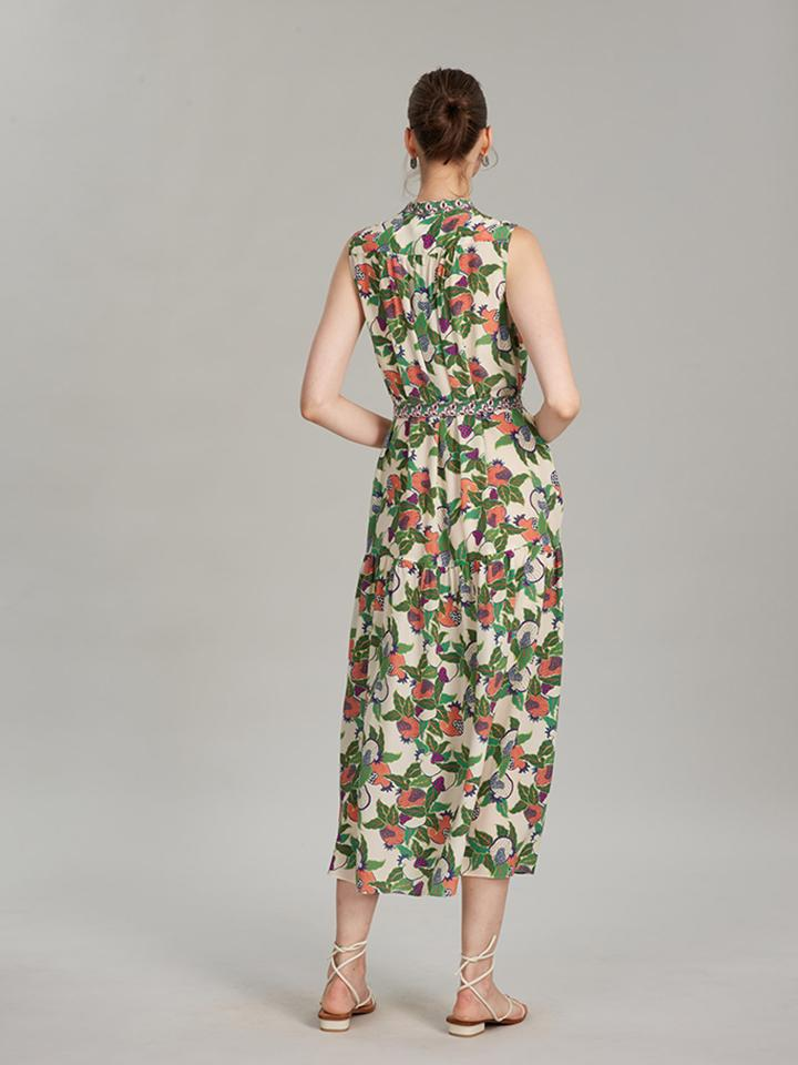 Load image into Gallery viewer, Remi Dress in Pomegranate print