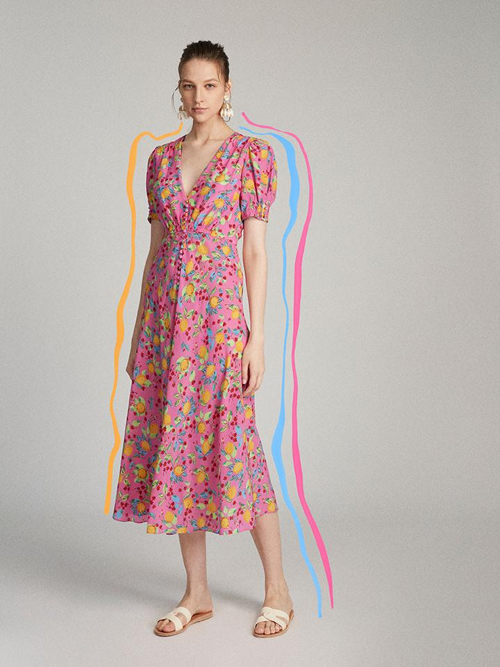 Load image into Gallery viewer, Lea Dress in Limoncello