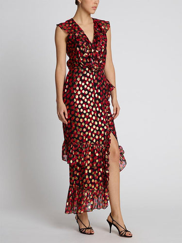 Anita Scarlet Daisy Maxi Dress