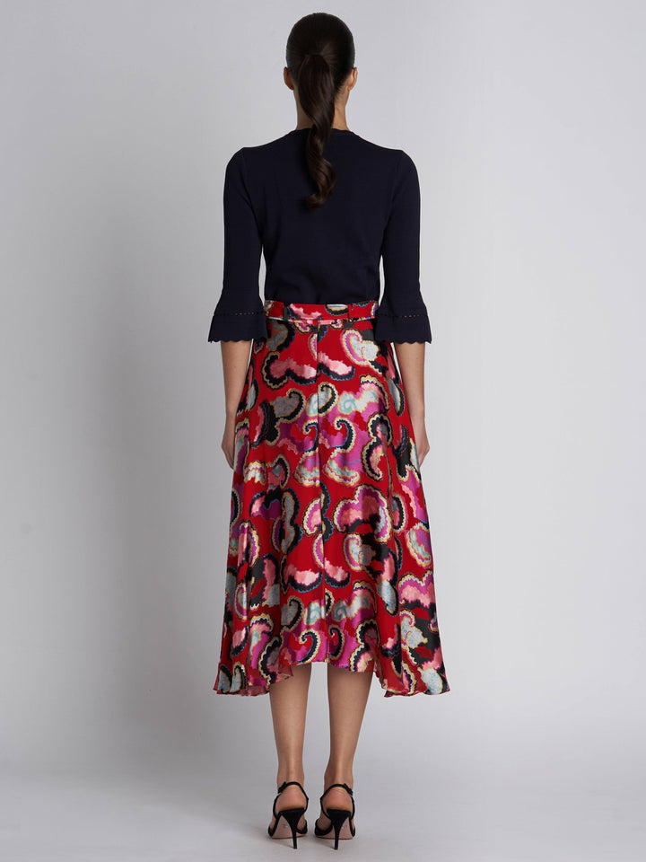 Load image into Gallery viewer, Judith Skirt Coral Daybreak