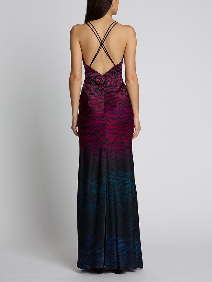 Load image into Gallery viewer, Elektra Dress Ombre Tiger