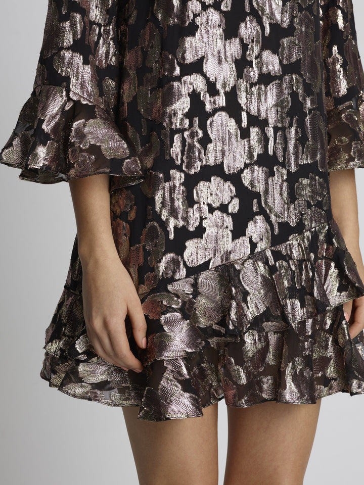 Load image into Gallery viewer, Marissa C Mini Rose Purl Dress