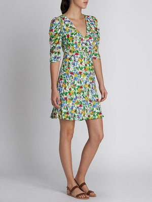 COLETTE PRINTED MINI DRESS