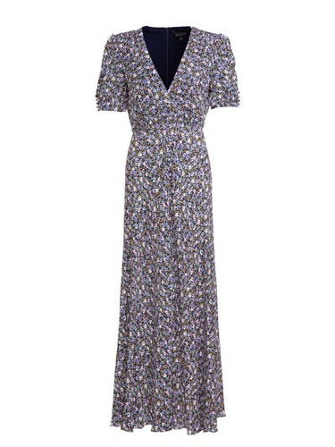 Lea Long Dress in Busy Lizzie