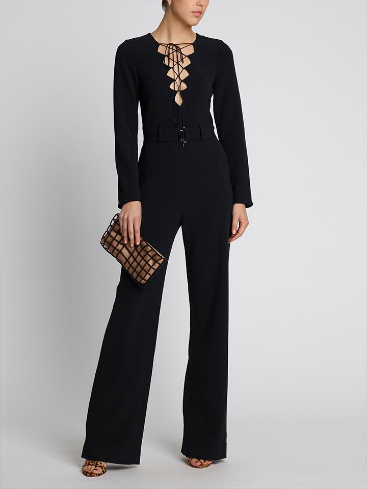 Load image into Gallery viewer, Nurul Jumpsuit Black