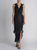 Anita Black Iridescent Dress