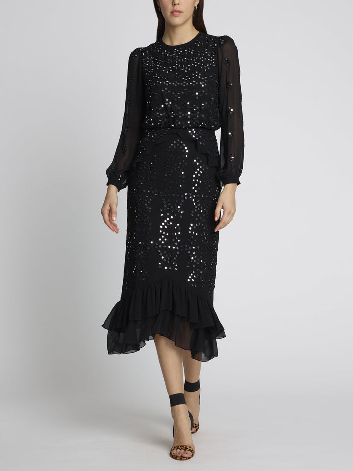 Load image into Gallery viewer, Isa Silk B Dress