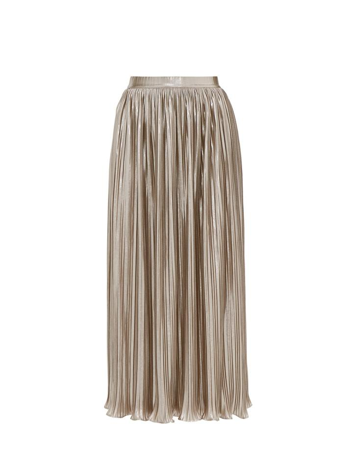 Load image into Gallery viewer, Camille Skirt in Champagne