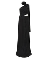 Honey Long Black Maxi Dress