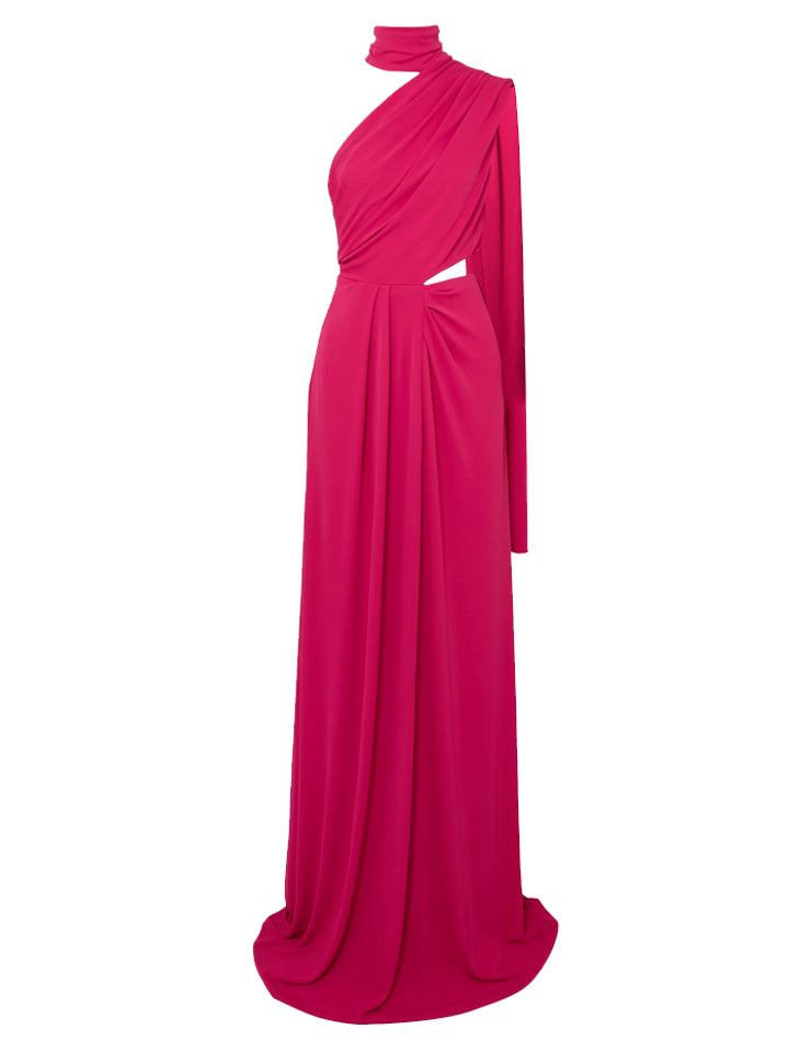 Load image into Gallery viewer, Honey Long Pink Maxi Dress