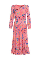 Isabel Dress in Rose Holi Vines