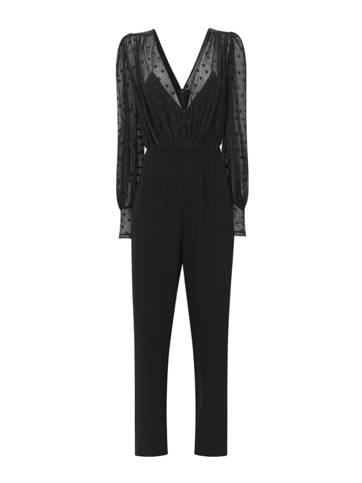 Load image into Gallery viewer, Bernadette Jumpsuit Black