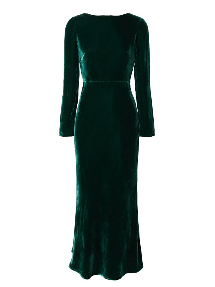 Load image into Gallery viewer, Tina Dress in Racing Green