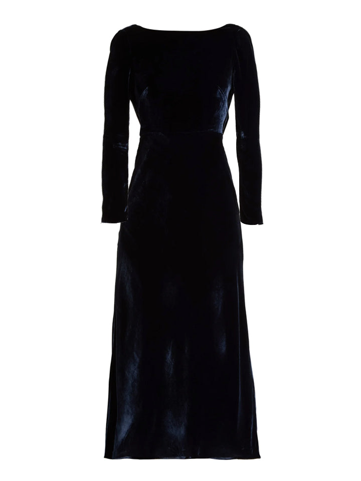 Load image into Gallery viewer, Tina Dress in Navy