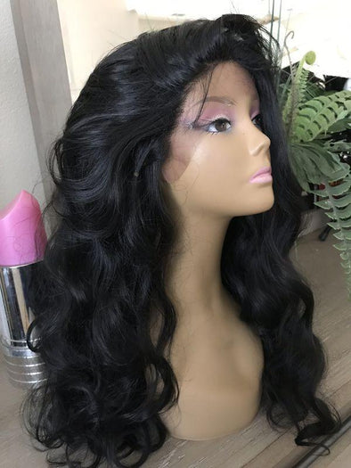 Lace Front Black Wig curly african american wigs blonde frontal bob