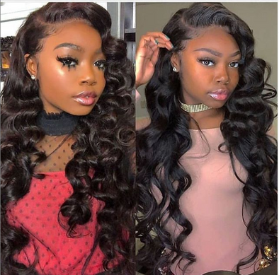 Lace Front Black Wig lace front wigs for african american women full lace wigs with baby hair under 100