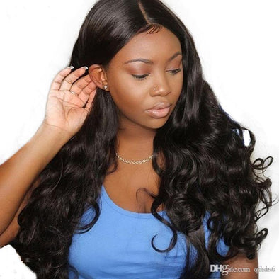 Lace Front Black Wig curly lace wig Lace hair brazilian hair bob cut