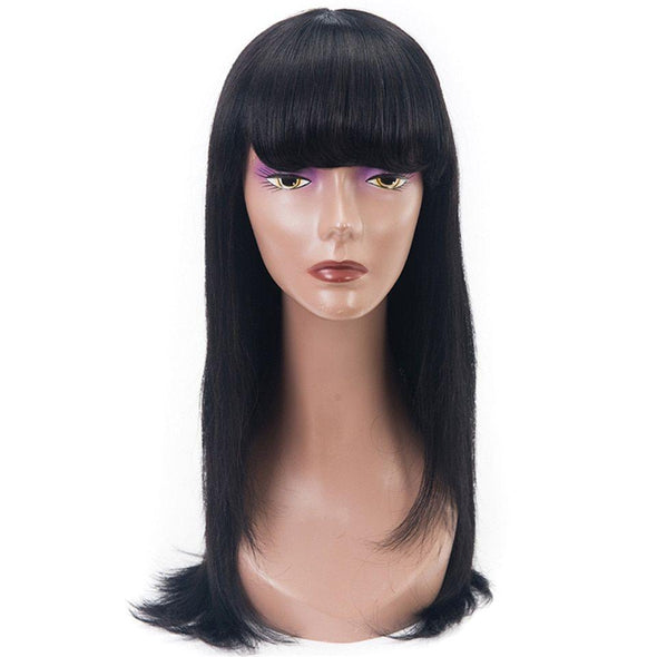 Lace Front Black Wig wigs on sale for african american mayde Lace hair wigs